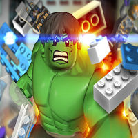 The Avengers: Lego Hulk Smash