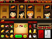play fast food bar game free online at puffgames com