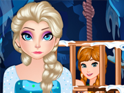 Frozen Elsa Saves Anna