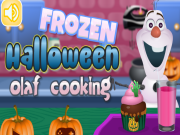 Frozen Halloween Olaf Cooking