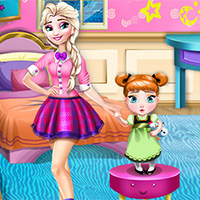 play frozen sisters room decoration game free online great new games