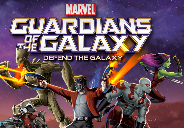 Play Guardians Of The Galaxy Defend Game Free Online At Puffgames Com