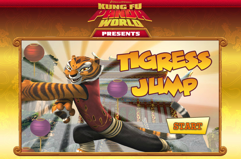Play Kung Fu Panda: Tigress Jump Game Free Online at ...
