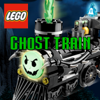 Lego Ghost Train