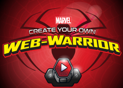 play marvel spider man create your own web warrior game free online