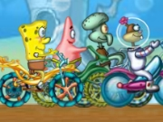 SpongeBob SquarePants Bicycle Racing