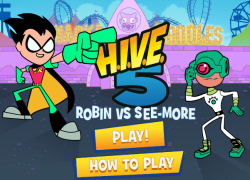 Teen Titans GO! - H.I.V.E.5 Robin Vs. See-More