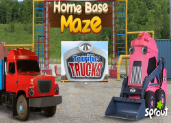 Terrific Trucks - Home Base Maze