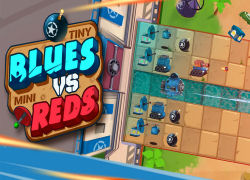 Tiny Blues Vs. Mini Reds