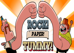 Uncle Grandpa - Rock! Paper! Tummy!