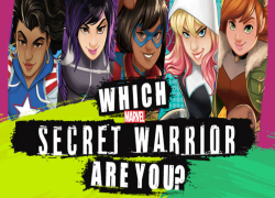 Wich Secret Marvel Warrior Are You?